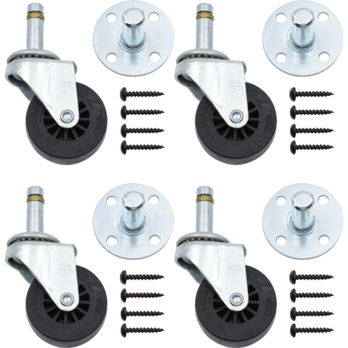 Caster - Peavey, Pop Out Swivel set image 1