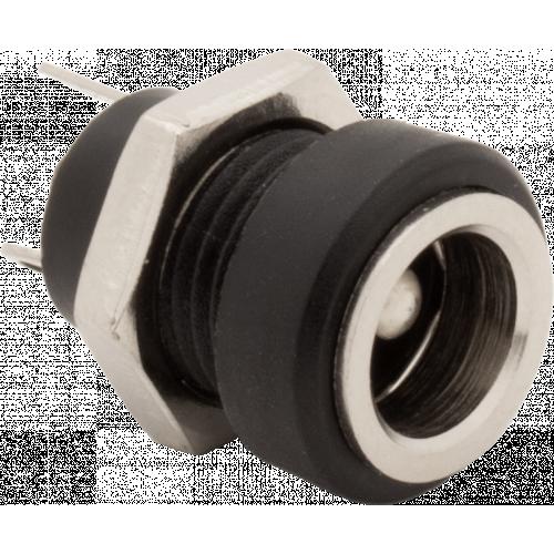 Power Jack - Lumberg, DC Panel Mount, Low Profile, 5.5mm External, 2.1mm Internal image 1