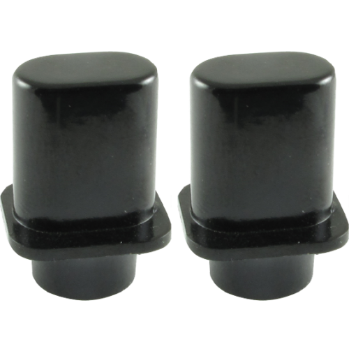 "Switch Tip - Fender®, Telecaster ""Top Hat"", Black image 1"