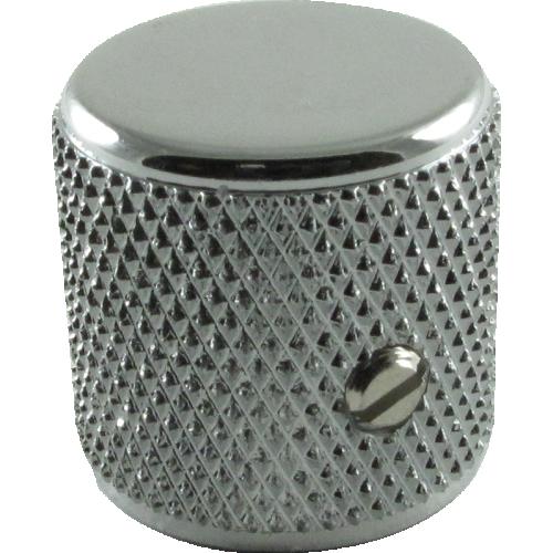Knob - Fender®, Telecaster/P-Bass Barrel, Chrome image 1