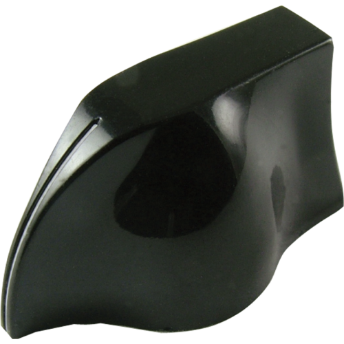 Knob - Peavey, Black Pointer, White Line image 1