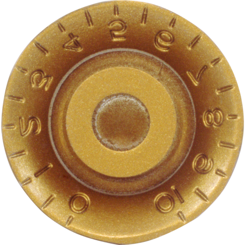 Knob - Top Hat, Embossed Numbers, Gibson Style image 8