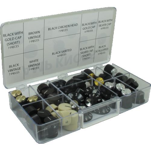 Knob Kit - Various Amp Knobs, 61 Pieces image 1