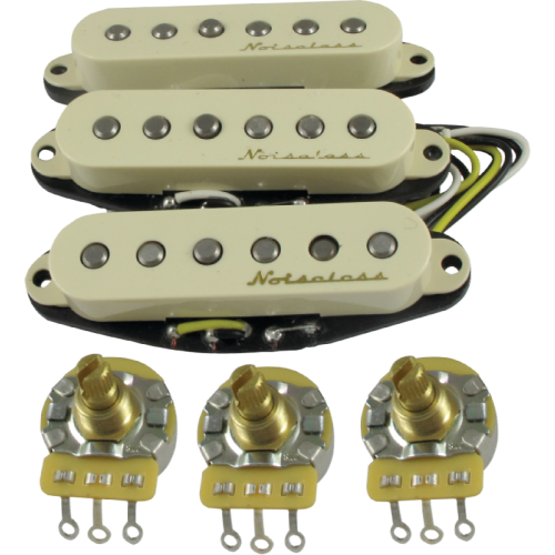 Fender Strat Vintage Noiseless Pickups Wiring Diagram