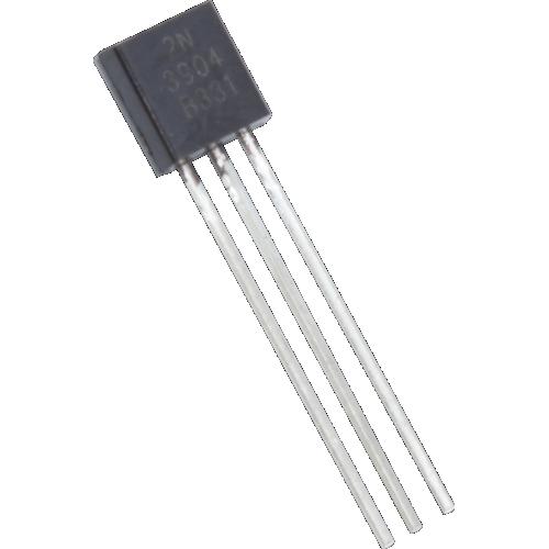 Transistor - 2N3904, TO-92 case, NPN image 1