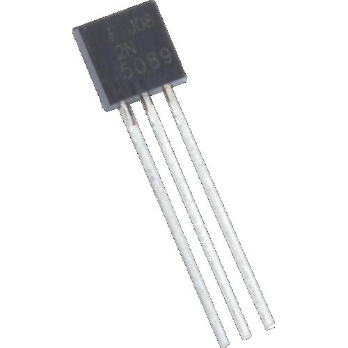 Transistor - 2N5089, TO-92, NPN image 1