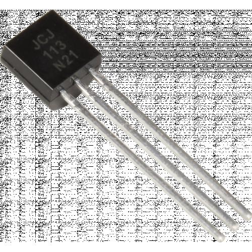 Transistor - J113, JFET, N-Channel,TO-92 image 1