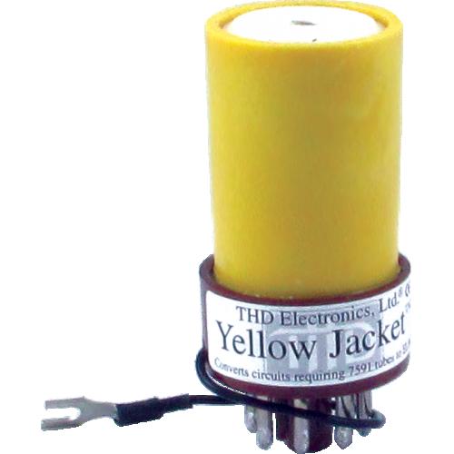 Adapter - Yellow Jacket, Converts 7591 to EL84/6BQ5 image 1