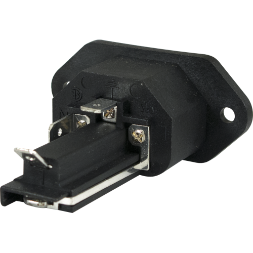 Receptacle - AC, Mates with S-W123 & S-W124 with Fuse Holder image 2