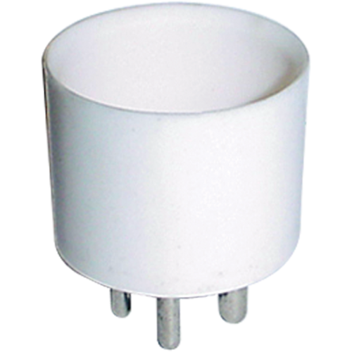 "Tube Base - 4 pin, ceramic, 1.25"" diameter image 1"