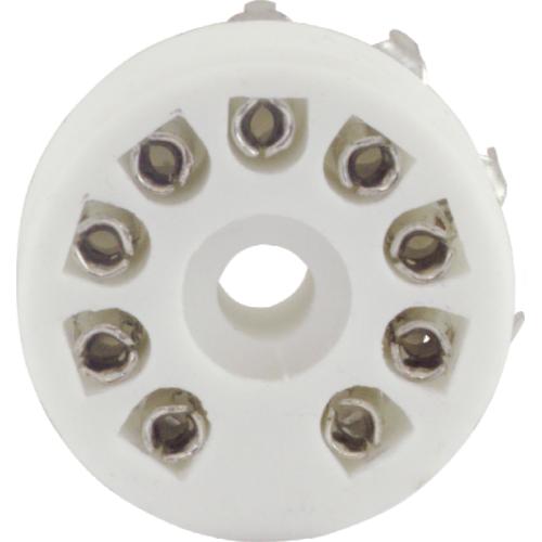 Socket - 9 Pin, Miniature, Standoff Ceramic PC Mount image 2