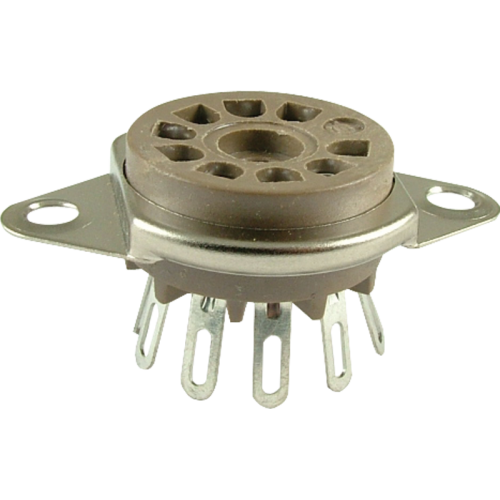 Socket - Belton, 9 Pin, Miniature, Top Mount image 1