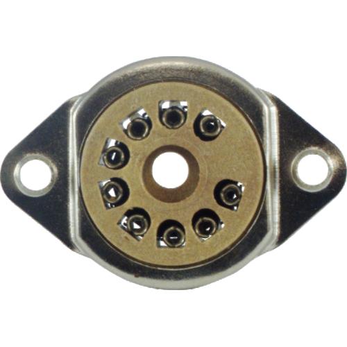 "Socket - 9 Pin, 3/4"" mounting hole, top mount image 2"