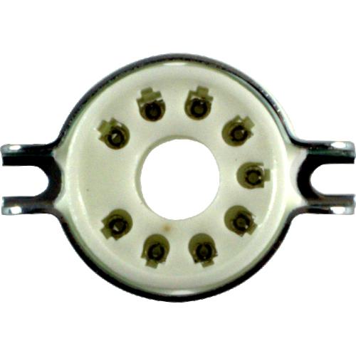 Socket - 9 Pin, Ceramic, Magnoval image 2