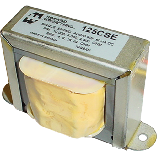 Transformer - Hammond, Universal Single Ended, 8 W, 60 mA image 1
