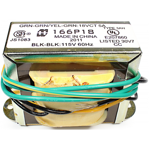 Transformer - Hammond, Low Voltage / Filament, Open, 18 VCT image 2