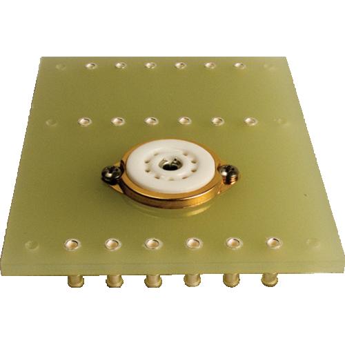 Terminal Board - one 9 Pin socket, 3 x 6 lugs image 1