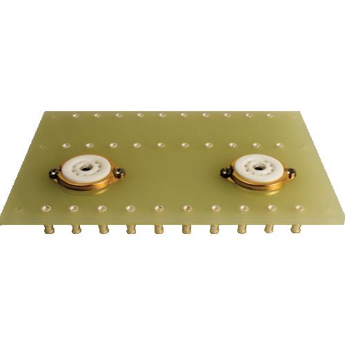 Terminal Board - two 9 Pin sockets, 3 x 10 lugs image 1