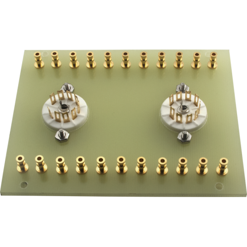 Terminal Board - two 9 Pin sockets, for Dynaco Mark III image 2