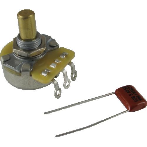 Potentiometer - Fender®, 250kΩ, Solid Shaft image 1