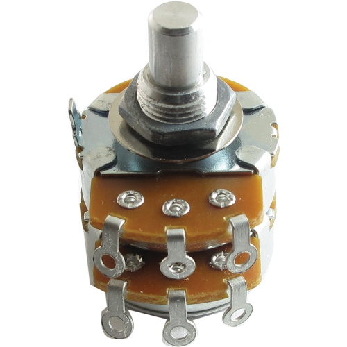 "Potentiometer - Alpha, Audio, Dual, 3/8"" Bushing image 1"