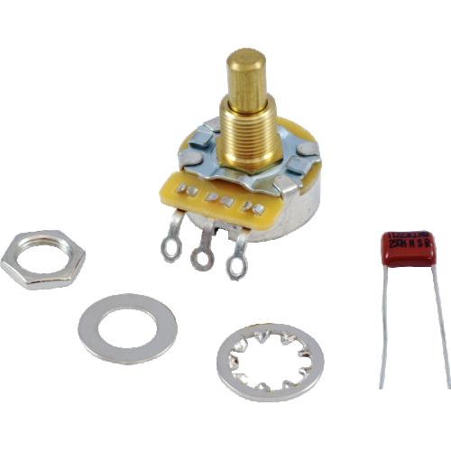 Potentiometer - Fender®, 500kΩ, Audio, Solid Shaft image 1