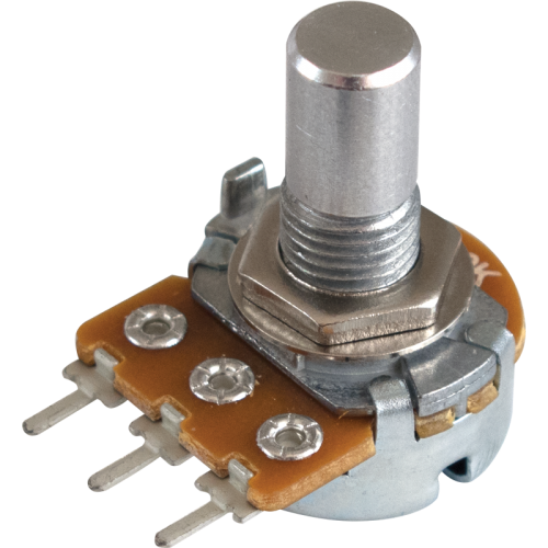 Potentiometer - Alpha, Linear, Solid Shaft, PC Lead, 16mm image 1