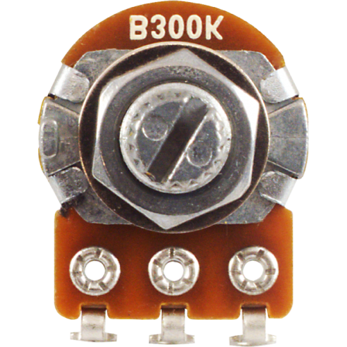 Potentiometer - Alpha, 300kΩ, Linear, Knurled Shaft, 16mm image 2