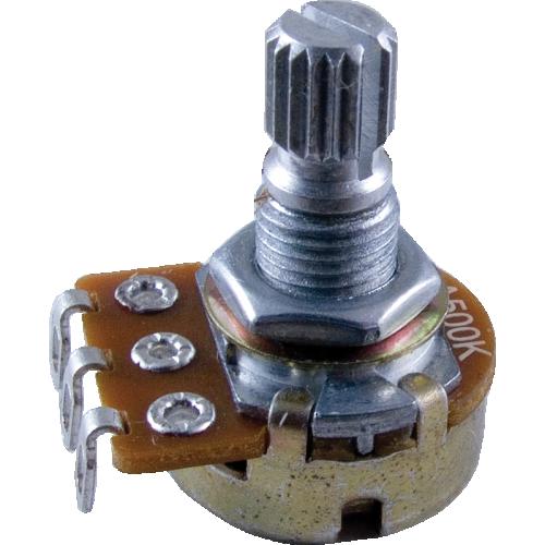 Potentiometer - Alpha, Audio, Knurled Shaft, 16mm image 1