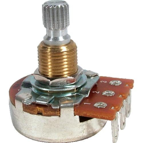 Potentiometer - Bourns, Audio, Knurled Shaft image 1