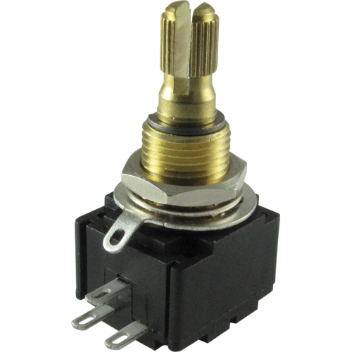 Potentiometer - Bourns, Linear, Knurled Shaft, square image 1