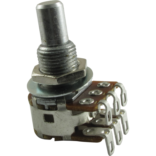 Potentiometer - Bourns, Dual MN Taper, Solid Shaft, 500kΩ image 1