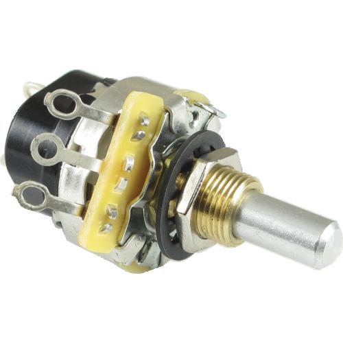 Potentiometer - CTS, Audio, SPST, Push-Pull, Solder Lug image 1