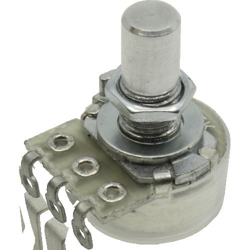Potentiometer - GØRVA, Audio, 16mm, Solder Lug, Solid Shaft image 1
