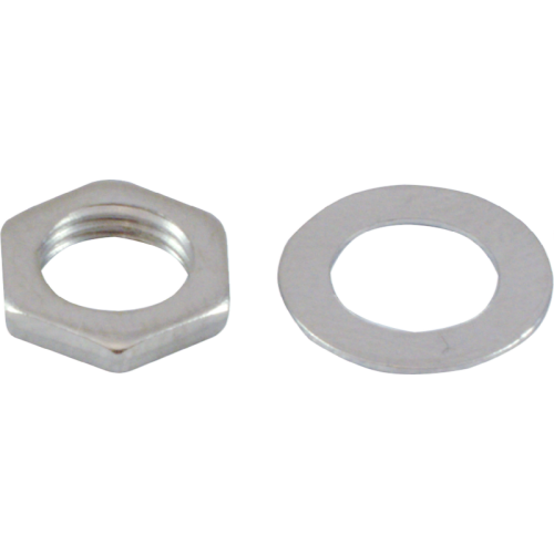 Nut & Washer - for M7x0.75 Potentiometers image 1
