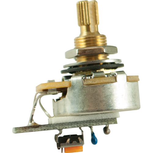 "Potentiometer - PMT, CTS, Audio, Variable Treble Bleed, 3/8"" image 1"