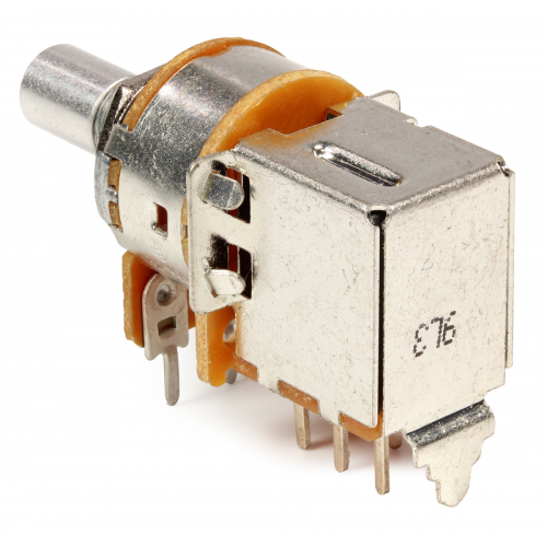 Potentiometer - Alpha, 1MΩ, Audio, 7mm Bushing, DPDT Switch image 3