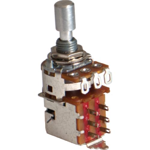 Potentiometer - Alpha, 1MΩ, Audio, DPDT, 7mm Bushing, Solder Lug image 1