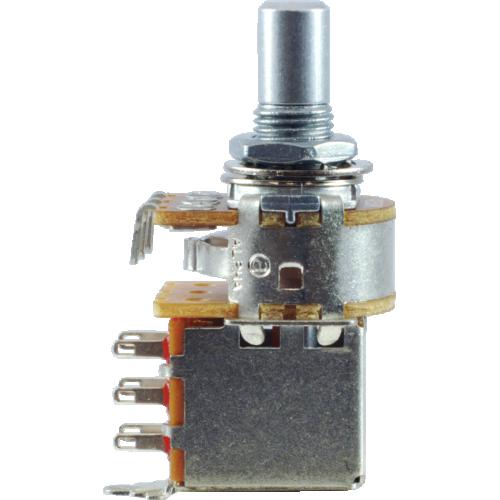 Potentiometer - Alpha, 250kΩ Audio, Solid Shaft, DPDT, 7mm image 3