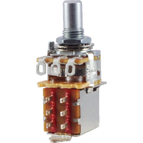 Potentiometer - Alpha, 250kΩ Audio, Solid Shaft, DPDT, 7mm image 1