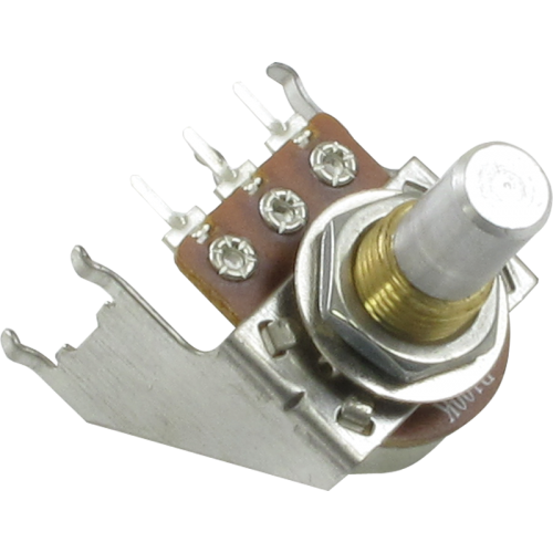 Potentiometer - Linear, Solid Shaft, Snap-In, Bracket image 1