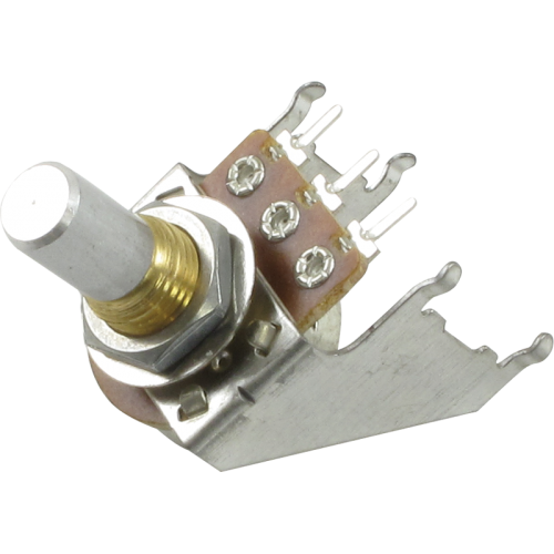 Potentiometer - Reverse Audio, Solid Shaft, 16mm, Snap-In image 1