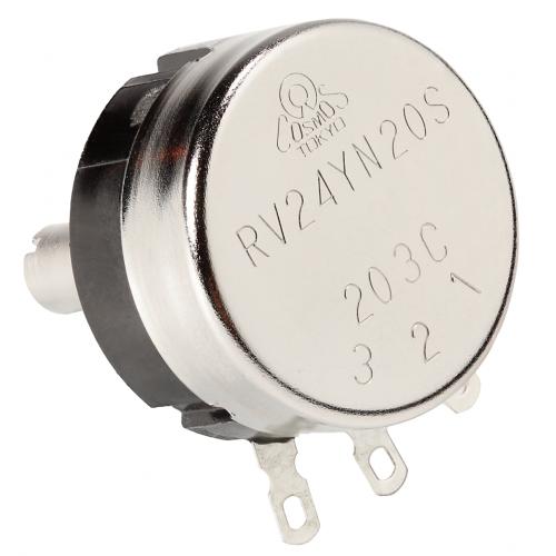 Potentiometer - Tocos, RV24, Audio, 10%, 6mm Shaft image 2
