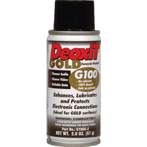 DeoxIT® Gold - Caig, G100, one-shot Spray image 1