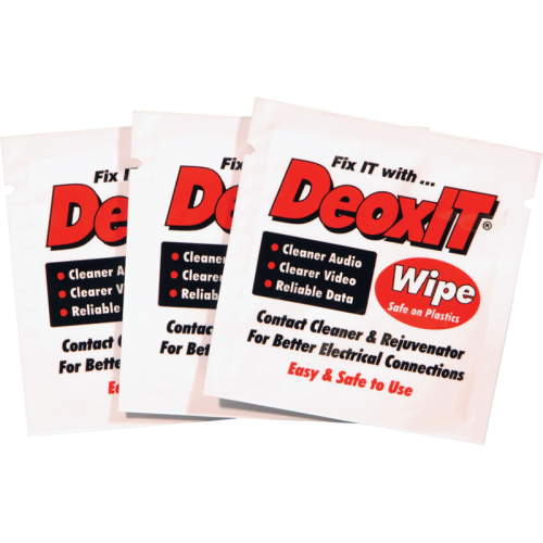 DeoxIT® - Caig, Wipes, 100% solution, set of 50 image 1
