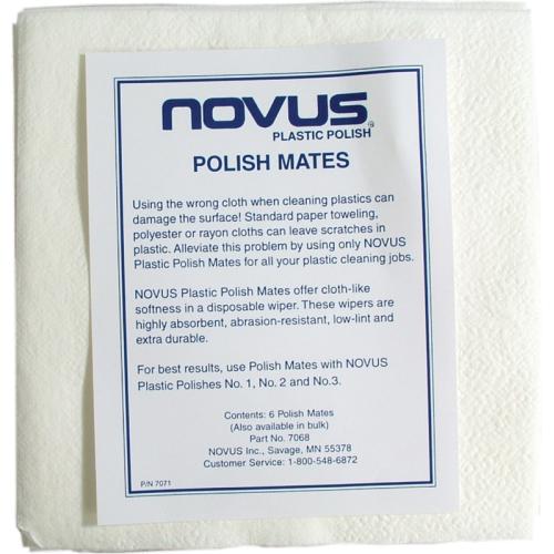Polish mate - Novus, cloths for polishing image 2