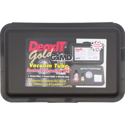 Vacuum Tube Survival Kit - Caig, DeoxIT® Gold image 3