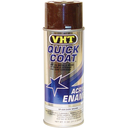 Paint - VHT Quick Coat, dark brown, for use with Wrinkle Finish image 1