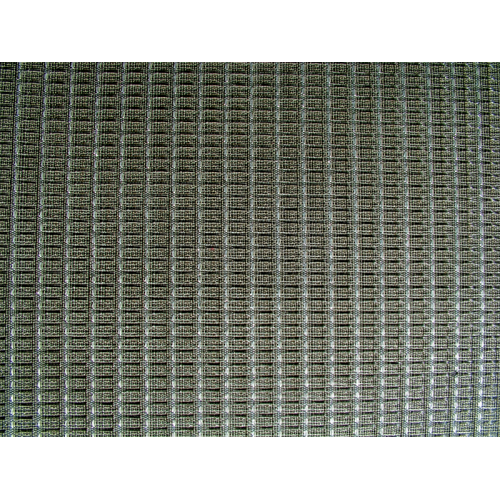 "Grill Cloth - Ampeg, Black / Silver, 34"" Wide image 1"