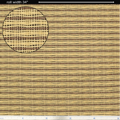 "Grill Cloth - Tan / Brown Wheat, 34"" Wide image 1"